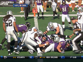 Video - Ravens QB Joe Flacco TD run