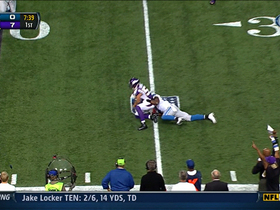 Video - Chad Greenway interception