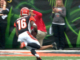 Video - Bengals QB Andy Dalton finds Andrew Hawkins for an 11-yard touchdown