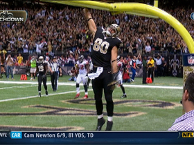 Video - Saints TE Jimmy Graham 29-yard TD