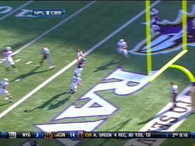Video - Ravens QB Joe Flacco finds Dennis Pitta for a TD