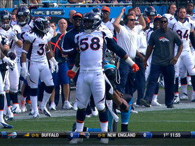 Video - Broncos OLB Von Miller's 'super' sack on Newton