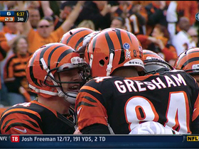 Video - Bengals QB Andy Dalton finds TE Jermaine Gresham for a 10-yard touchdown