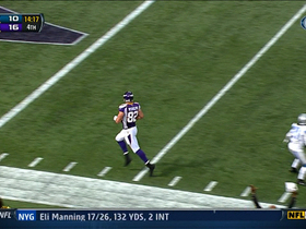 Video - Vikings TE Kyle Rudolph 20-yard TD