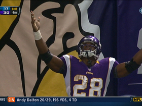 Video - Vikings Adrian Peterson 61-yard TD run