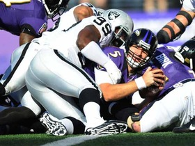 Video - Oakland Raiders vs. Baltimore Ravens highlights