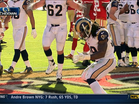Video - St. Louis Rams running back Steven Jackson 7-yard TD run