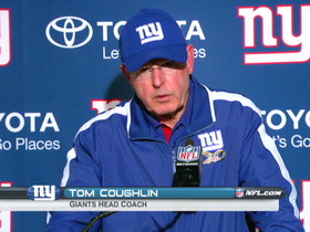 Video - New York Giants postgame press conference