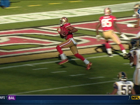 Video - San Francisco 49ers wide receiver Michael Crabtree 14-yard TD catch