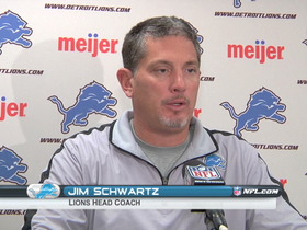 Video - Detroit Lions postgame press conference