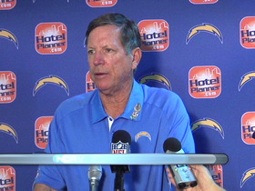 Video - San Diego Chargers postgame press conference