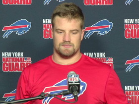 Video - Buffalo Bills postgame press conference