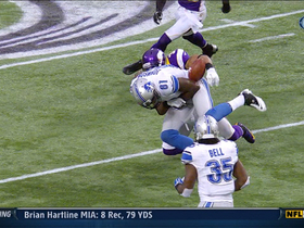 Megatron fumbles football
