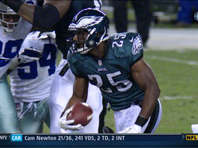 Video - Philadelphia Eagles running back LeSean McCoy 23-yard sprint