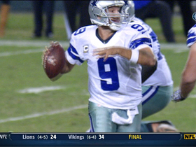 Video - Dallas Cowboys quarterback Tony Romo scramble completion