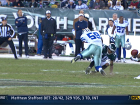 Video - Dallas Cowboys cornerback Brandon Carr pick six Nick Foles
