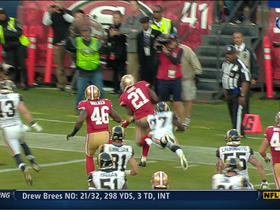 Video - San Francisco 49ers running back Frank Gore 20-yard TD run