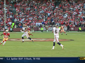 Video - St. Louis Rams convert second fake punt