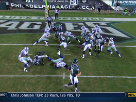 Video - Philadelphia Eagles running back Stanley Havili 1-yard TD run