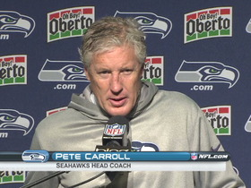 Video - Seattle Seahawks postgame press conference