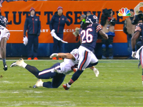 Video - Chicago Bears cornerback Tim Jennings  second interception