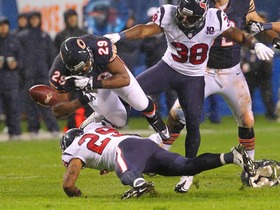 Video - Houston Texans, Chicago Bears combine for six first half turnovers