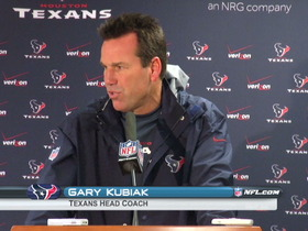 Video - Houston Texans postgame press conference