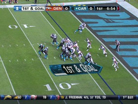 QB Newton to TE Olsen, 4-yd, pass, TD