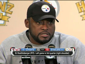 Video - Pittsburgh Steelers head coach Mike Tomlin: 'We did do enough to win'