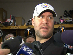 Video - Pittsburgh Steelers quarterback Ben Roethlisberger: 'I heard a crunch and a crack'