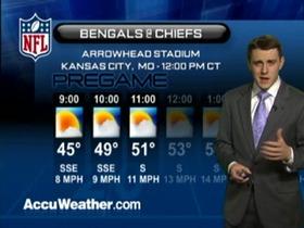 Video - Weather update: Bengals  @ Chiefs