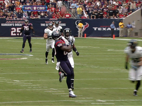 Video - Houston Texans WR Andre Johnson hauls in a 44-yard pass from Matt Schaub