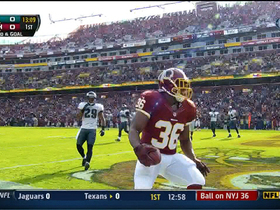 Video - Redskins QB Robert Griffin III throws a 6-yard touchdown pass