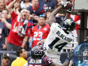 Video - Jaguars WR Justin Blackmon 63-yard catch