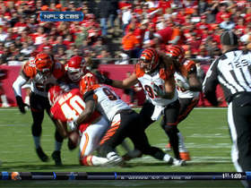 Video - Peyton Hillis fumble