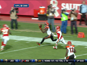 Video - Bengals WR A.J. Green 40-yard pass reception