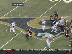 Video - Tebow stopped on 4th down
