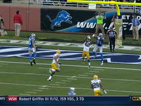 Video - Detroit Lions WR Calvin Johnson 25-yard TD catch