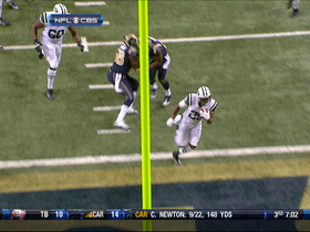 Video - New York Jets RB Bilal Powell 2nd TD run