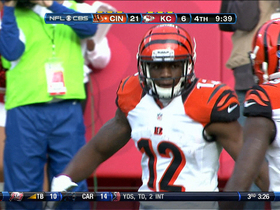 Video - Cincinnati Bengals QB Andy Dalton's 3rd touchdown of the game