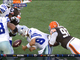 Watch: Browns strip Romo