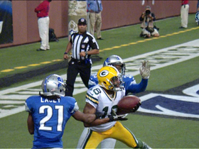 Video - Green Bay Packers QB Aaron Rodgers finds Randall Cobb for the lead