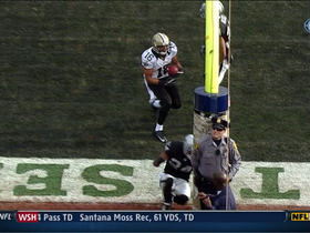 Video - New Orleans Saints WR Lance Moore 38-yard TD catch
