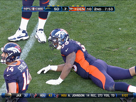 Video - Chargers linebacker Donald Butler forces fumble