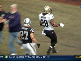Video - New Orleans Saints RB Mark Ingram 27-yard TD run