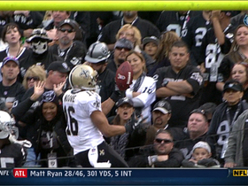 Video - New Orleans Saints WR Lance Moore 15-yard TD catch