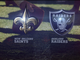 Video - Saints vs. Raiders highlights