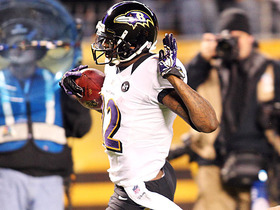 Video - Baltimore Ravens' Jacoby Jones 63-yard punt-return TD