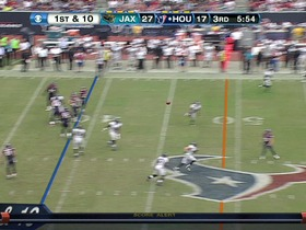 QB Schaub to TE Graham, 30-yd, pass
