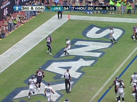 QB Schaub to TE Graham, 1-yd, pass, TD